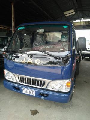 Xe tải Jac 2t4, trả góp 90%, lãi suất cực thấp, ưu đãi 3 năm bảo hành miễn phí.