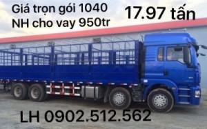 Xe tải 4 chân shacman chi nhánh Long An