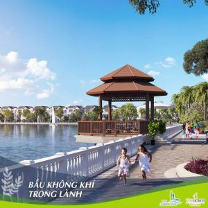 Biệt thự Ven hồ Long Biên - Hà Nội 168-225m2 3 tầng
