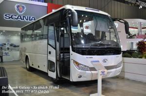 Xe khách Đô Thành Galaxy DHB8S2. Xe khách 30 chỗ, giao xe nhanh nhất.