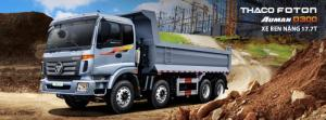 Xe ben Auman D300B thùng ben 14,2 mét khối,tải trọng 17,3 Tấn