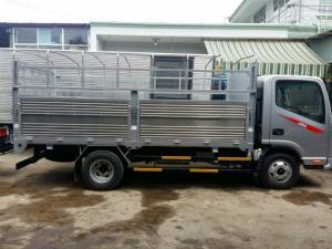 Bán xe tải JAC 2t4/ 2,4t/ 2 tấn 4 thùng dài 3m7 hỗ trợ trả góp, vay cao
