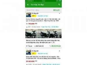 Tìm mua xe ex giá dưới 15tr