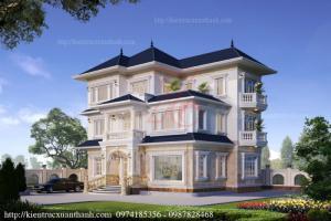 Thiết kế biệt thự 3 tầng đẹp