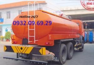 Xe phun tưới nước,Xe chở nước,Xe rửa đường Kamaz 12 khối 53229 mới