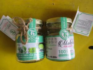 Bột trà xanh nguyên chất - Đắp mạt nạ cho da sáng đẹp