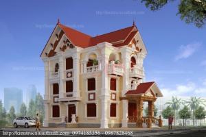Thiết kế biệt thự cổ điển đẹp