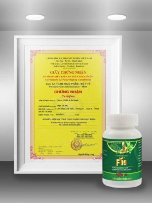Giấy phép kinh doanh sản xuất sản phẩm hỗ trợ bệnh tiểu đường F99. l Liên hệ ngay để được tư vấn!