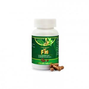 Sản phẩm hỗ trợ bệnh tiểu đường F99 giúp ổn định đường huyết, hỗ trợ biến chứng người bị tiểu đường sau 7 ngày sử dụng.