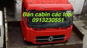 Cabin dongfeng 2017 2 giường nằm, camc, foton...
