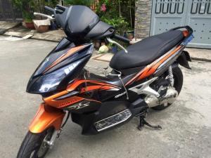 Honda Air blade lên Thái,màu cam- đen, BSTP, xe đẹp lung linh