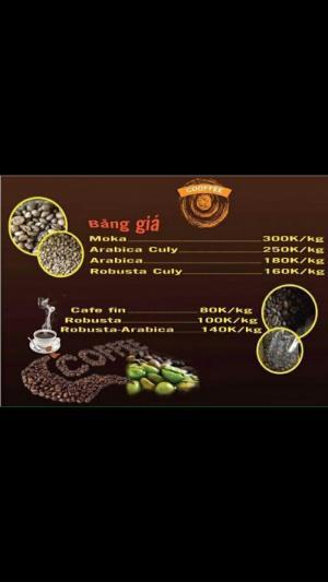 Bên mình cung cấp cafe bột rang xay, cafe nguyên hạt,các bạn có thể lấy mẫu về thử chất lượng.