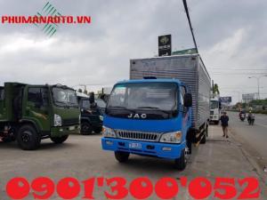 Xe tải Jac 6.4 tấn thiết kế với thùng dài 6.2 mét. Xe được sản xuất trên dây chuyền hiện đại. Xe tải jac 6.4 tan sẽ luôn mang lại sự chắc chắn, độ tin cậy và yên tâm cho người dùng bởi vì khung sắt xi được chế tạo bằng máy dập KAWASAKI của Nhật Bản. Xe tải JAC 6.4 tan được trang bị động cơ FAW đạt tiêu chuẩn khí thải Euro - tiết kiệm nhiên liệu.