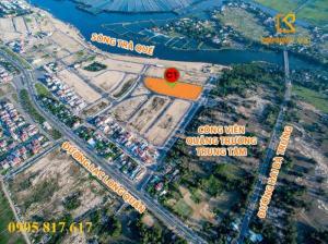 Đất đường Hai Bà Trưng,DT 350m2,hướng Nam,Hội An