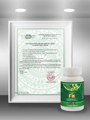 Sản phẩm hỗ trợ hỗ trợ bệnh tiểu đường F99 được giấy phép lưu hành và sử dụng phổ biến, chăm sóc sức khỏe người bệnh tiểu đường.