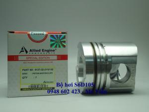 Piston S6D105 - Buồng nổ 59mm.