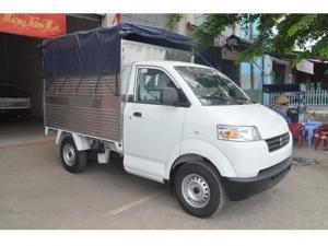 Giá xe tải suzuki carry pro 615 kg thùng bạt trả góp
