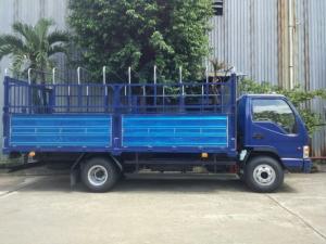 Bán xe tải jac 4t95 động cơ isuzu thùng bạt sx 2017 hỗ trợ trả góp