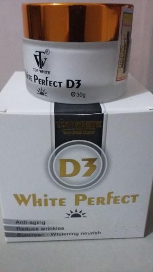 White Perfect D3 - 1 Trong 3 - Kem Dưỡng Trắng Chống Nắng Makeup Ban Ngày