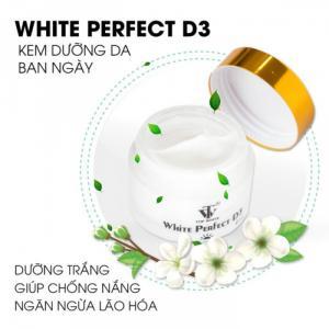 White Perfect D3 - Có Ngay Làn Da Trắng Sáng Trong Suốt Như Sao Hàn, Trẻ Trung Không Ngại Nắng