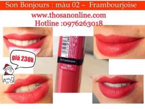 Son Bourjois Rouge Edition Velvet (Màu Số...