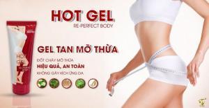 Gel tan mỡ Hot Gel Re-Perfect Body - đánh tan mỡ thừa tại nhiều vị trí trên cơ thể, giúp da săn chắc căng mịn