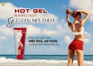 Sản phẩm thiên nhiên, đốt cháy mỡ thừa hiệu quả an toàn, không kích ứng da - Gel tan mỡ thừa Top White Hot gel Re- Perfect Body