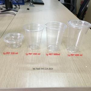 Ly nhựa Pet, Ly nhựa PP...Ly nhựa dùng 1 lần tại Hà Nội