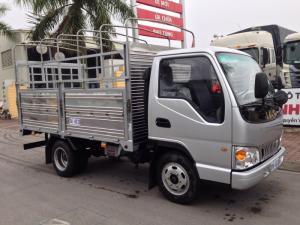 Xe tải jac 1.25 tấn / jac 1t25 thùng kín, mui bạt động cơ isuzu 100%