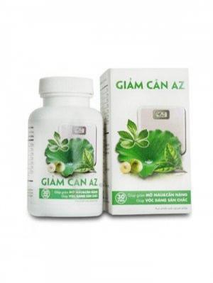 Viên giảm cân AZ - Tăng cường chuyển hóa mỡ thừa trong cơ thể