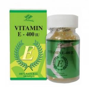 Vitamin E hàm lượng 400 IU - Viên uống làm đẹp da