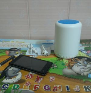 Loa bluetooth mini touch lamp Y02