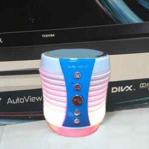 Loa Bluetooth WS1805 có đèn led
