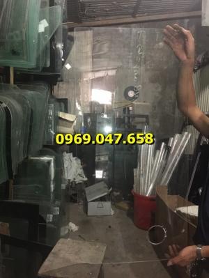 Kính máy xúc đào ủi Doosan Deawoo