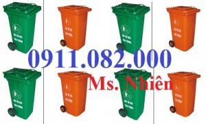 Cần xả kho thùng rác các loại- thanh lý thùng rác 120 lít, 240 lít giá rẻ