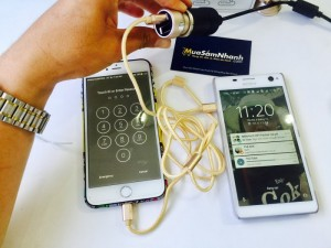 Combo Cáp 2 trong 1 + Cóc sạc oto 2 USB + Đế hít điện thoại - Bộ Sạc Xe Hơi Cao Cấp Chính Hãng Baseus - MSN388074