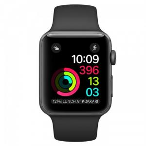 Đồng Hồ Thông Minh Apple Watch Series 2 - 38mm Space Gray Aluminum Case with Black Sport Band-MP0D2LL/A-Openbox