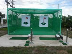 Khung tập golf kép KG06 golffami