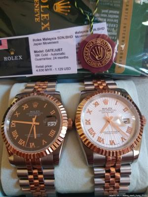 Rolex, Tissot, Omega, Longines Thụy Sỹ