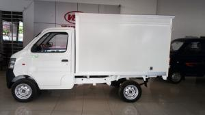 Xe tải Veam 780kg màu trắng, khí thải Euro4