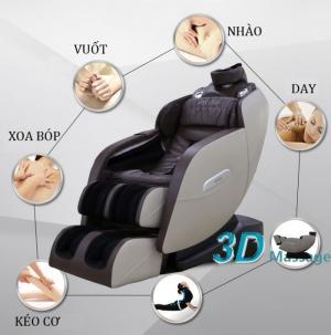 ghế massage shika 3D mát xa toàn diện