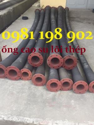 Lý do khác - Ống cao su lõi thép, ống cao su lò xo hút nước hút cát phi 100, 150, 200, phi 250, phi 300