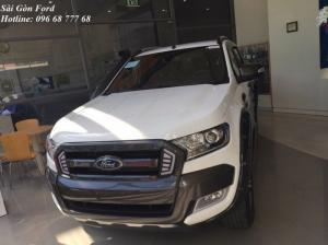 Tặng phí trước bạ 100% khi mua Ford Ranger Wildtrack 2017, giao xe tháng 09/2017