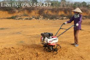 Máy xới đất Oshima chính hãng, máy làm đất xạc cỏ lên luống tạo rãnh giá tốt
