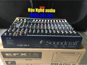 Mixer bàn SOUNDCRAFT EFX 12 Line nhập khẩu