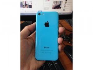 Iphone 5c lock 16g xanh dương,mạng nhật