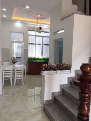 Nhà bán KDC Sài Gòn Mới, DT 4x13m, 3 lầu, 4PN, sân thượng, giá 2.87 tỷ