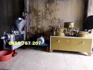Máy ép dầu công nghiệp Guangxing YZYX90WK ép dầu lạc, vừng giá rẻ