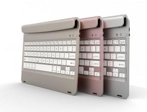 Độ dày của cơ thể là 7.5mm, phù hợp với độ dày của iPad Air 1/2, iPad Pro.