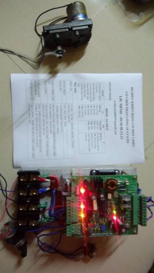 Bộ điều khiển động cơ một chiều 24VDC - 5kW